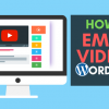 How to Embed YouTube Videos On Your WordPress Website